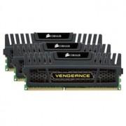 Memorie Corsair Vengeance 12GB (3x4GB) DDR3, 1600 MHz, CL9, Triple Channel Kit, CMZ12GX3M3A1600C9