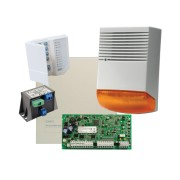 Kit alarma la efractie DSC cu sirena exterioara, KIT1616BS