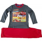 Disney Boys Disney Cars Long Sleeve Pyjamas Grey 8 Years / 128 cm