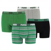 Puma 4-Pack Combi Basic/Stripe Green-M