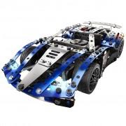 Meccano 25-in-1 Model Set Super Car Blue 6044495