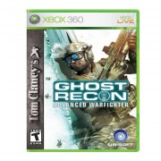 Xbox 360 Juego Tom Clancy's Ghost Recon Advanced Warfighter