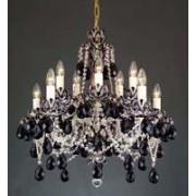 Black crystal chandelier 8003 10/02HK-505/40SC40