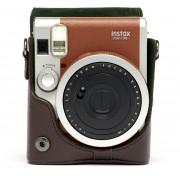 Fujifilm Instax Mini 90 tas bruin