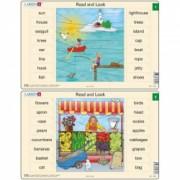 Set 10 Puzzle-uri Read and Look 1 -10 EN 16 piese Larsen LRRA1