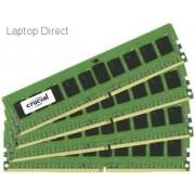 Crucial 32GB kit (8GBx4) DDR4 PC4-17000 Registered ECC 1.2V Desktop Memory