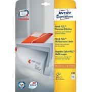 Avery 4780 etichetta per stampante Bianco Etichetta per stampante autoadesiva