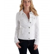 GUESS Alisana Denim Jacket White white