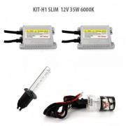 Kit Xenon H1 SLIM 12V 35W 6000K, Carguard