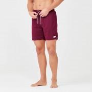 Myprotein Surf Swim Shorts - S - Burgundy