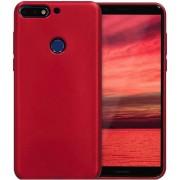 Protectie spate Senno Pure Flex Slim Mate TPU pentru Huawei Y7 2018 / Y7 Prime 2018 (Rosu)