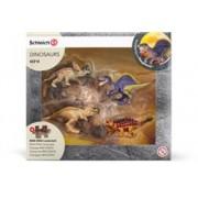 Set Figurine Schleich Mini Dino + Puzzle Lava - 42212