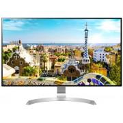 """Monitor IPS LED LG 31.5"""" 32UD99-W, UHD (3840 x 2160), HDMI, DisplayPort, USB 3.0, Boxe, Pivot, 5 ms (Alb/Argintiu)"""