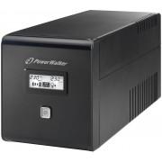 POWERWALKER Zasilacz UPS VI 1000 LCD Schuko