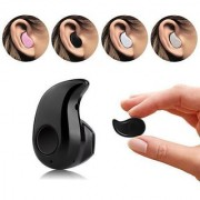 Fleejost Mini Style Wireless Bluetooth Headphone Beige S530 1pcs in-Ear V4.0 Stealth Earphone Phone Headset Handfree Uni