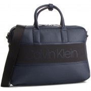 Чанта за лаптоп CALVIN KLEIN - Strike Slim Laptop Bag K50K504277 Navy 068