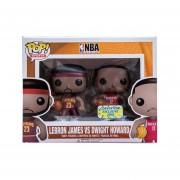Funko Pop Lebron Jamex Vs Dwight Howard Nba Exclusivo Basketball