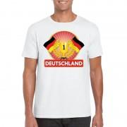 Shoppartners Wit Duitsland supporter kampioen shirt heren