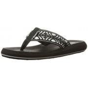 Skechers Cali Women s Asana Flip Flop Black/White 6 B(M) US