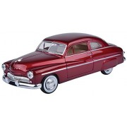 Motormax 1:24 1949 Mercury Coupe (American Classic Diecast Collection) (Metallic Red)