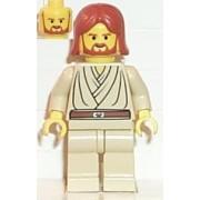 Obi-Wan Kenobi Young with Dark Orange Hair - LEGO Star Wars Figure