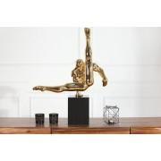 Soška Gymnast 70cm zlatá