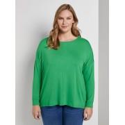 TOM TAILOR MY TRUE ME Shirt met 3/4 mouw en vleermuis, gras green, 46