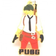 Trunkin Cool New PUBG Character Guy Model 4 Rubber Keychain