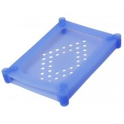 """Scatola di Protezione per 1 HDD 2,5"""" in Silicone Azzurro"""