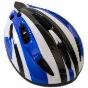 Каска за велосипед Flash - M, синя, MASTER, MAS-B201-M-blue
