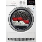 Uscator de rufe Aeg T8DBG49S, 9 kg, inverter, AbsoluteCare, OkOFlow, Woolmark Blue, clasa A++, alb