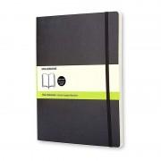 Moleskine Notebook Cuaderno A4 192 Hojas Páginas Lisas Tapa Blanda Negro