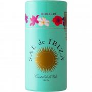 Sal de Ibiza »Granito con Hibiscus« - Streuer mit Deckel 90 g aus Spanien