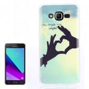 Para Samsung Galaxy J2 Primer / G532 Amor Patron TPU Caso