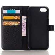 39.95 iPhone 7, 7 plus og X PU läder cover/korthållare - svart iPhone 7 plus/ iPhone 8 plus