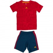 adidas Baby World CSummer Set Vivid Red/Scarlet/Gold