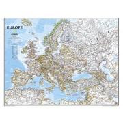 Wandkaart Europa, politiek, 114 x 88 cm | National Geographic
