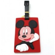 Funcart Mickey Mouse Luggage Tag(Multicolor)
