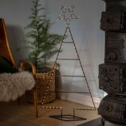 LED decorative light Christmas tree with star