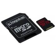 Memorija micro SDXC 128GB Kingston Canvas React,SDCR/128GB,U3 UHS-I+SD adapter