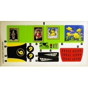 Lego Original Sticker for Speed Racer Set #8160 Cruncher Block & Racer X