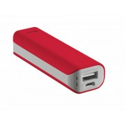 Power Bank, Trust Primo, 2200mAh, Red (21223)