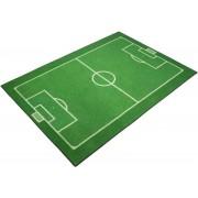 Van der Meulen Speelmat voetbalveld 95x133 cm 0309090