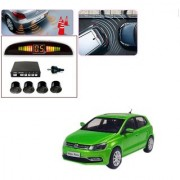 Auto Addict Car Black Reverse Parking Sensor With LED Display For Volkswagen Polo Exquisite