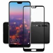 Folie sticla securizata 5D Full Glue Huawei P20 Pro Negru