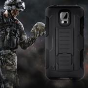 Удароустойчив Калъф Броня Hard Shell Stand Case За Samsung I9100 Galaxy Note 4