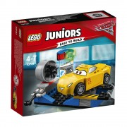 LEGO Juniors - Cars 3, Simulatorul de curse Cruz Ramirez 10731