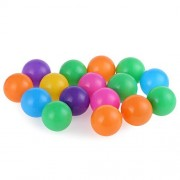 Najer Soft Plastic Kids Play Balls Non Toxic Crush Proof & No Sharp Edges, Ideal for Baby Or Toddler Ball Pit, Kiddie Pool, Indoor Playpen & Parties, 100 Balls
