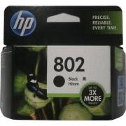 HP 802 Single Color Ink Cartridge(Black)