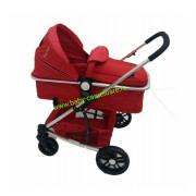 Cărucior nou născut Baby Care 2 in 1 YK 18 Rosu